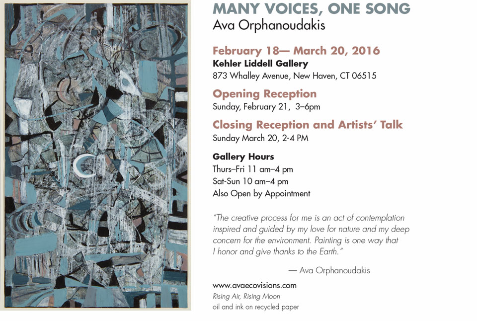 Invitation for Exhibition at Yale University